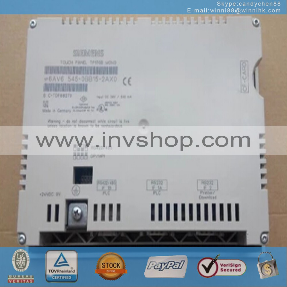 6AV6545-0BB15-2AX0 BACK SIDE
