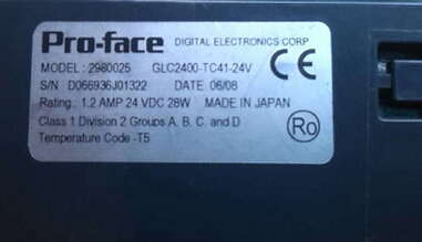 New for Proface 2980025 GLC2400-TC41-24V LCD Panel Replacement