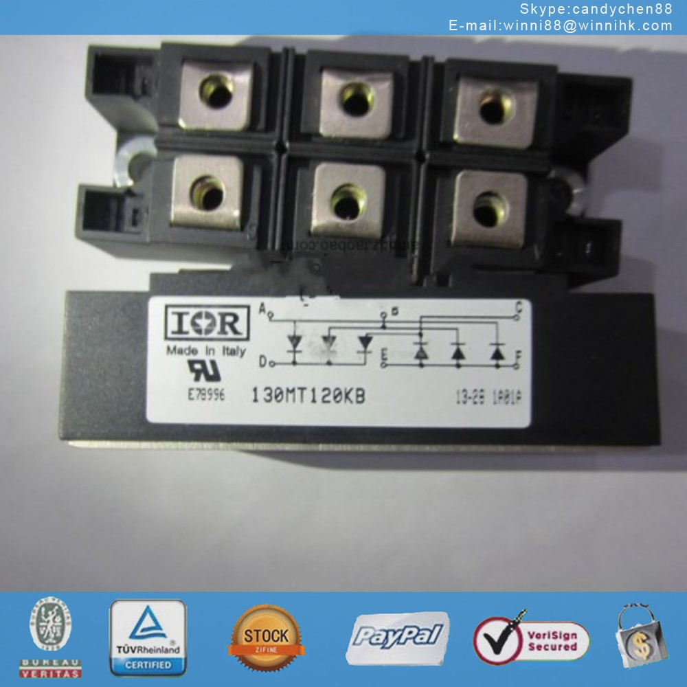 NEW IR (INTERNATIONAL RECTIFIER) 130MT120KB MODULE