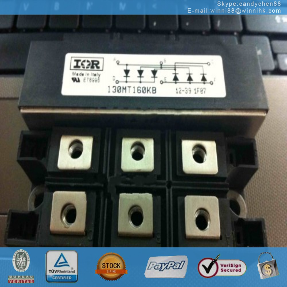NEW IR (INTERNATIONAL RECTIFIER) 130MT160KB MODULE