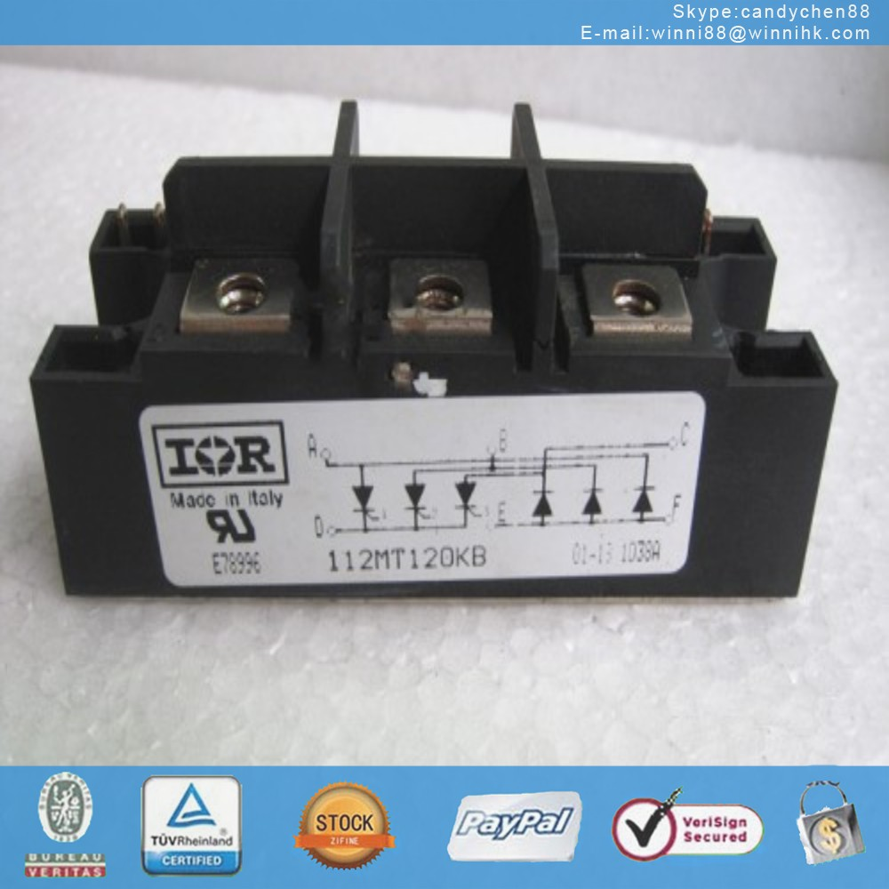 NEW IR (INTERNATIONAL RECTIFIER) 112MT120KB MODULE