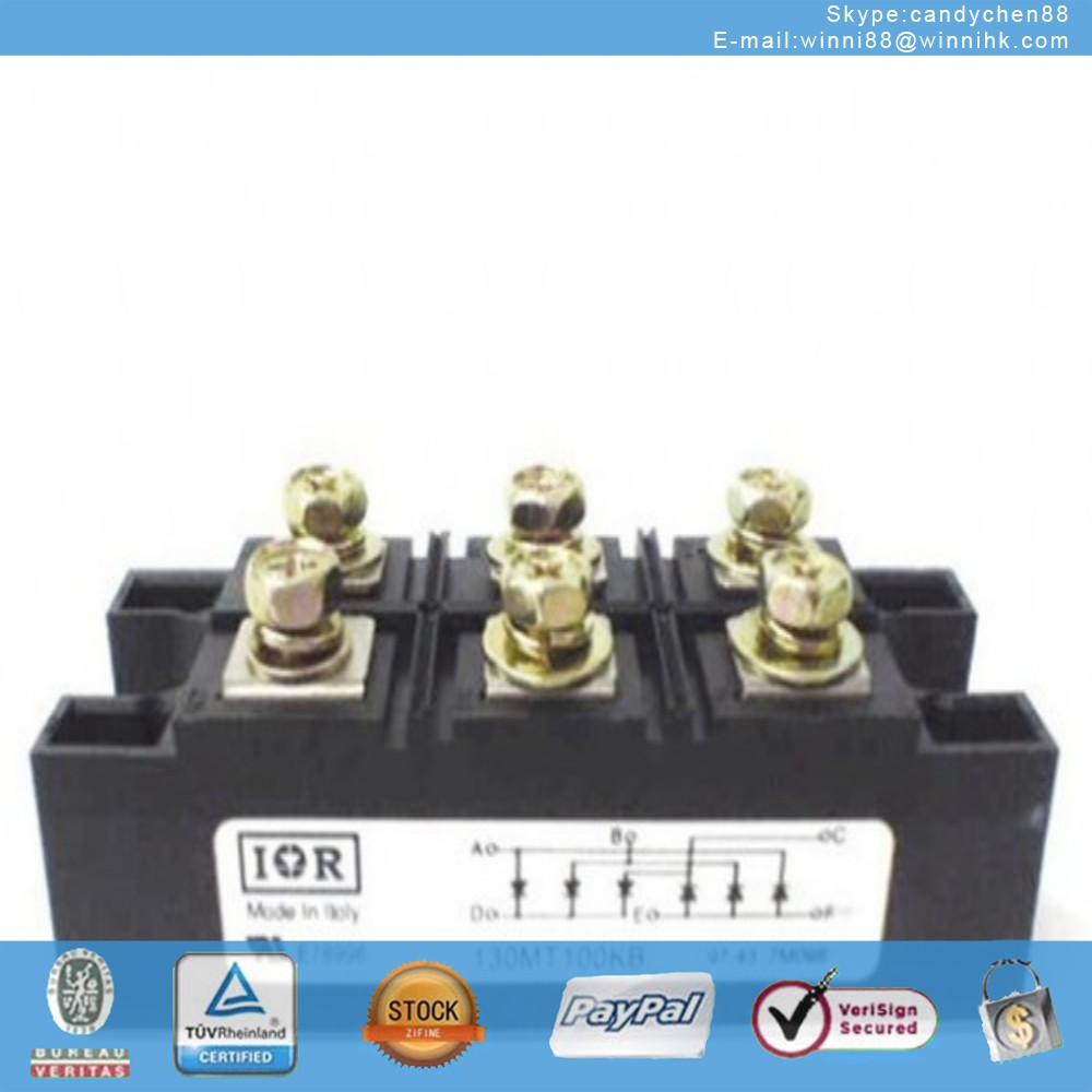 NEW IR (INTERNATIONAL RECTIFIER) 130MT100KB MODULE