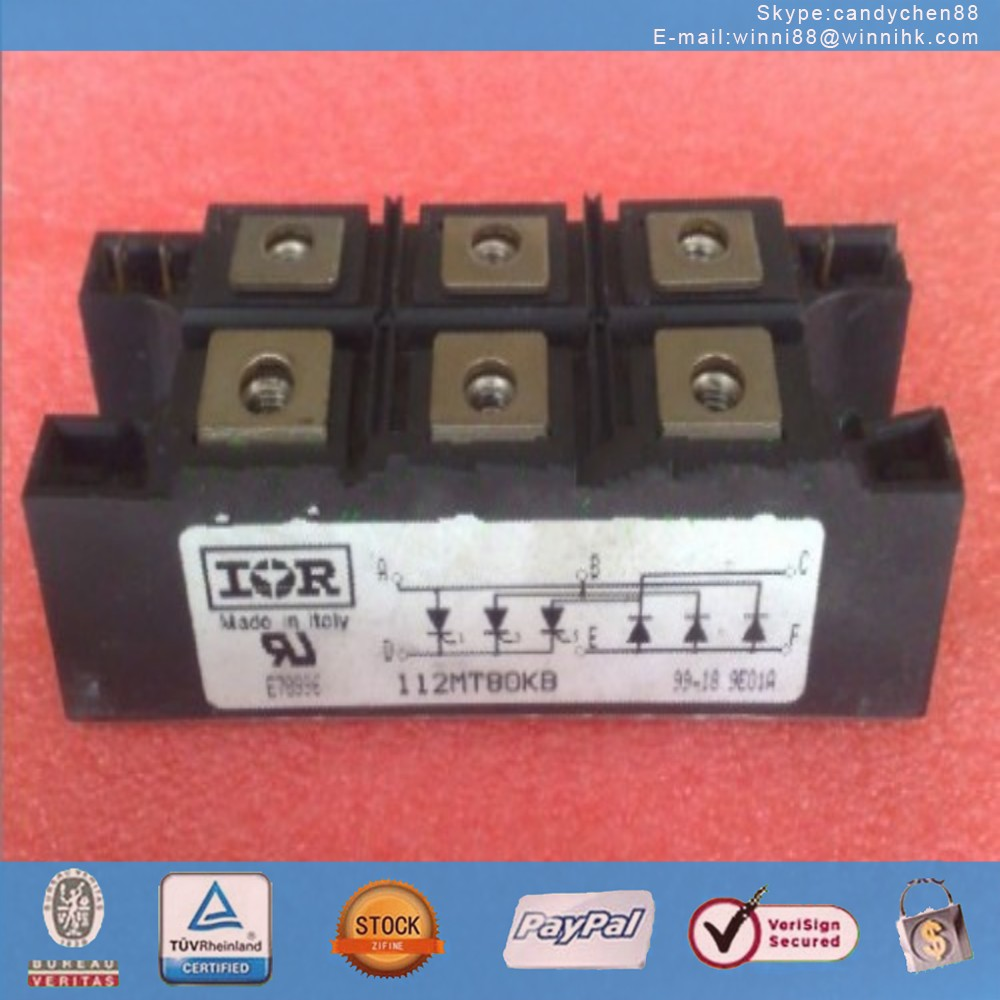 NEW IR (INTERNATIONAL RECTIFIER) 112MT80KB MODULE