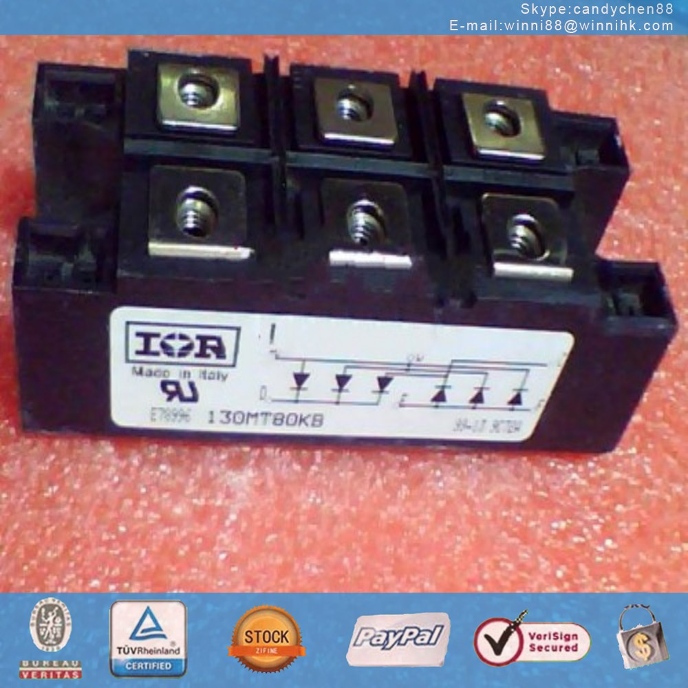 NEW IR (INTERNATIONAL RECTIFIER) 130MT80KB MODULE