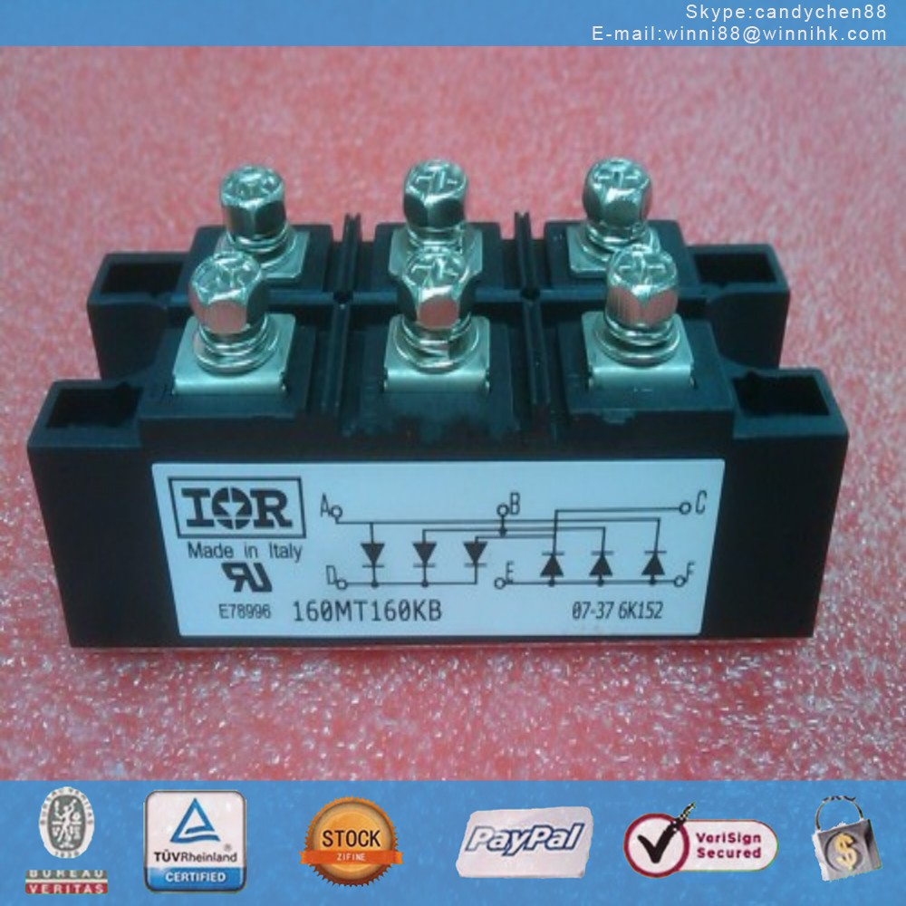 NEW IR (INTERNATIONAL RECTIFIER) 160MT160KB MODULE