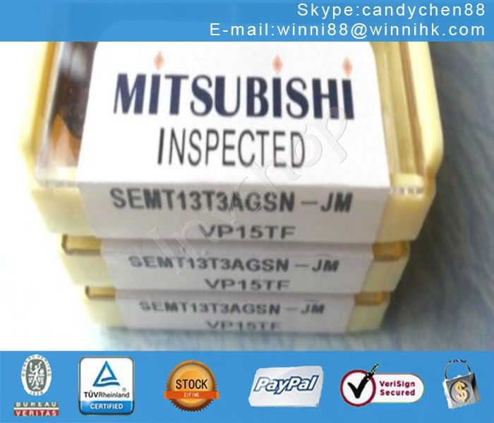 10PCS/Box in box MITSUBISHI SEMT13T3AGSN-JM New VP15TF Carbide Inserts 60 days warranty