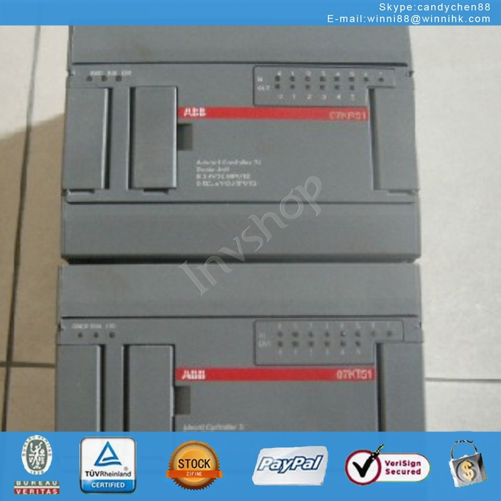 for ABB Used 07KR51-U3.6 PLC 60 days warranty