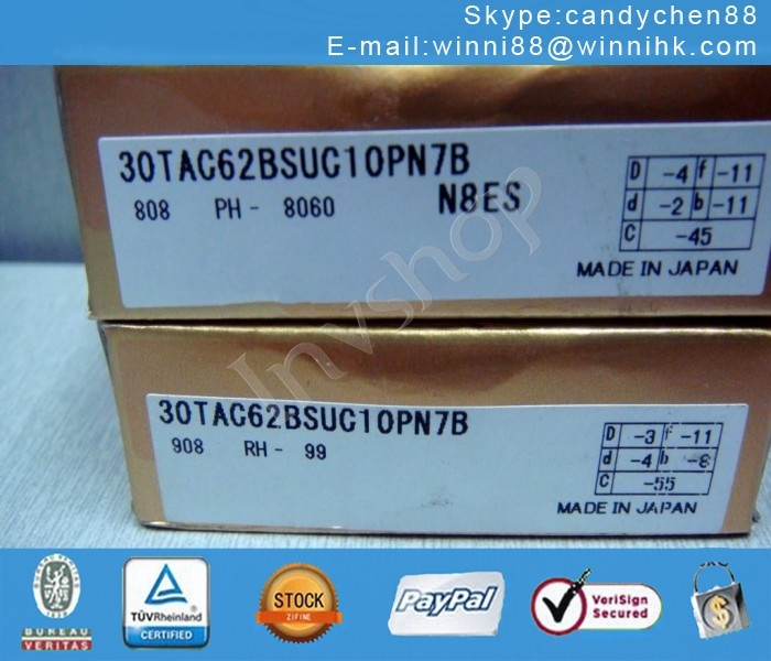 Ball Screw Bearing ,super NSK 35TAC72BSUC10PN7B NEW (1PC) precision bearing