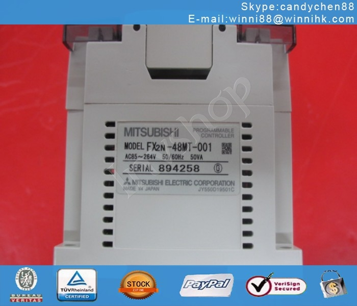 new Mitsubishi FX2N-48MT-001 programmable controller