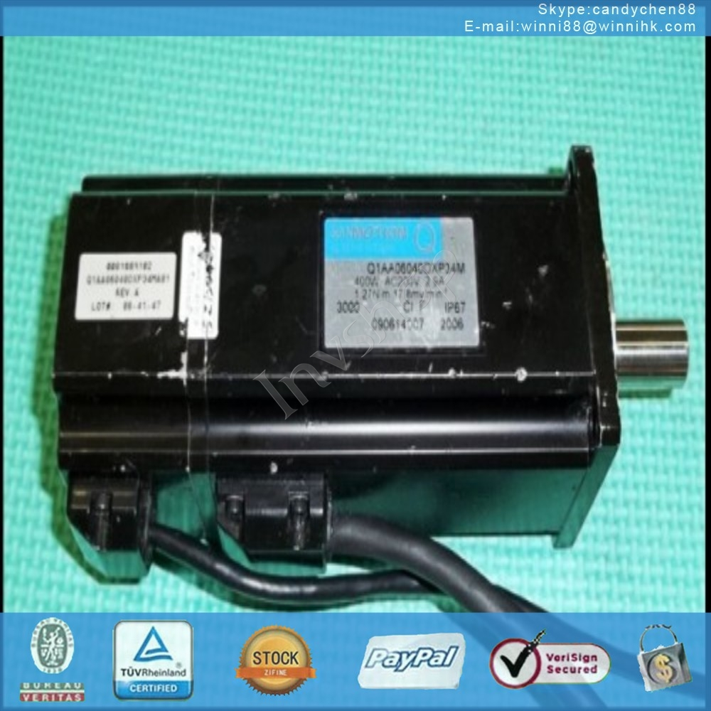 Q1AA06040DXP34M for Sanyo servo motor 60 days warranty