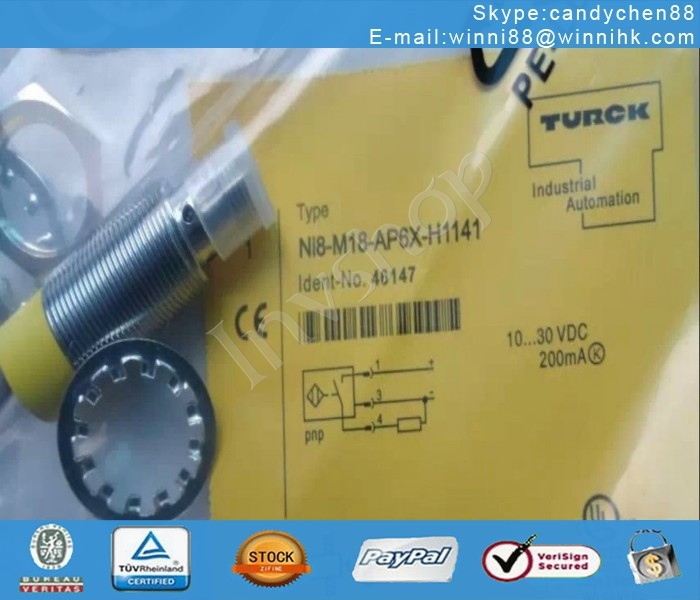IN Bag NEW NI8-M18-AP6X-H1141 Turck Proximity Sensor
