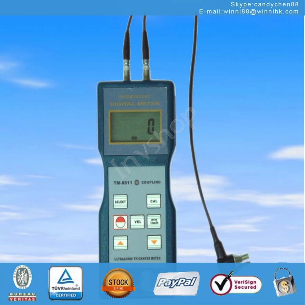 new TM-8811 Ultrasonic thickness meter