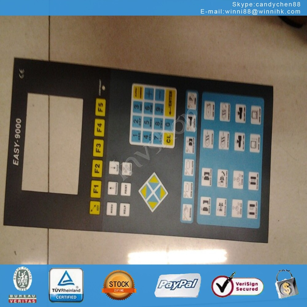 new EASY-9000 injection molding machine Membrane keypad