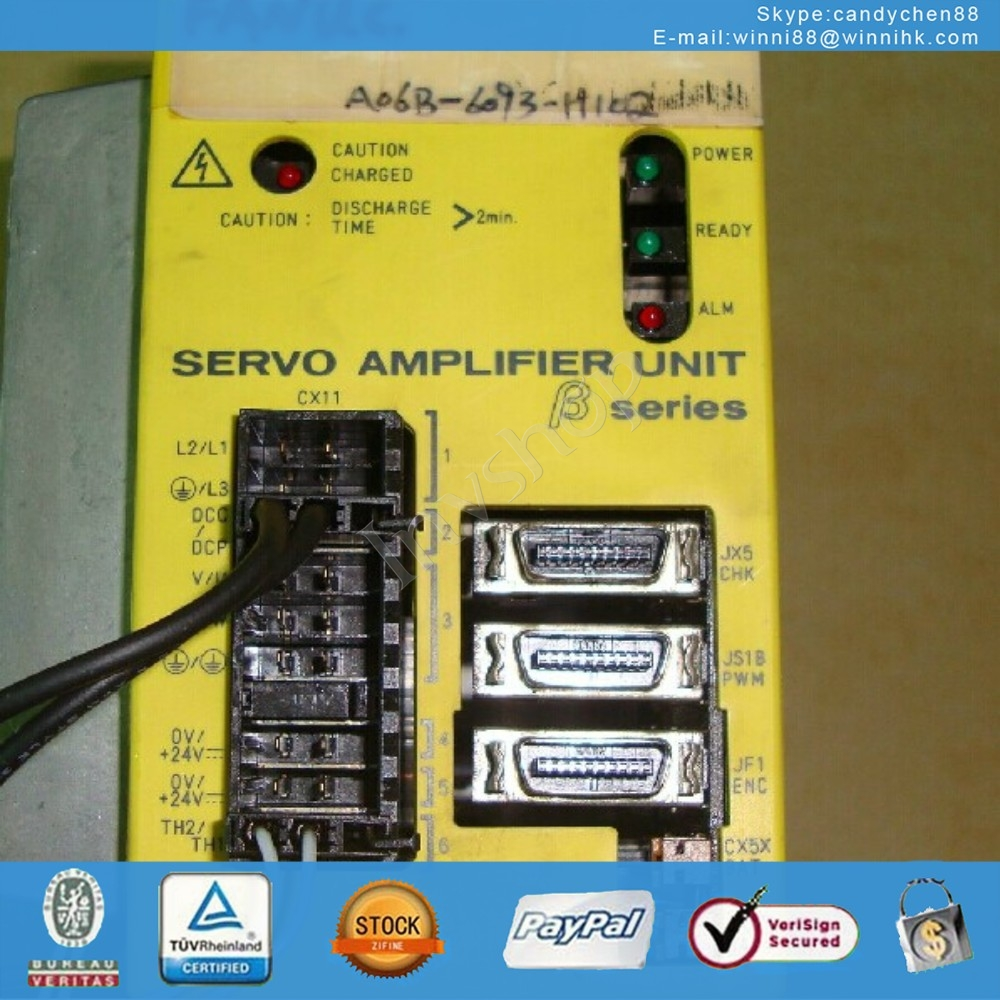 Servo Amplifier A06B-6093-H102 FANUC Ninety percent new