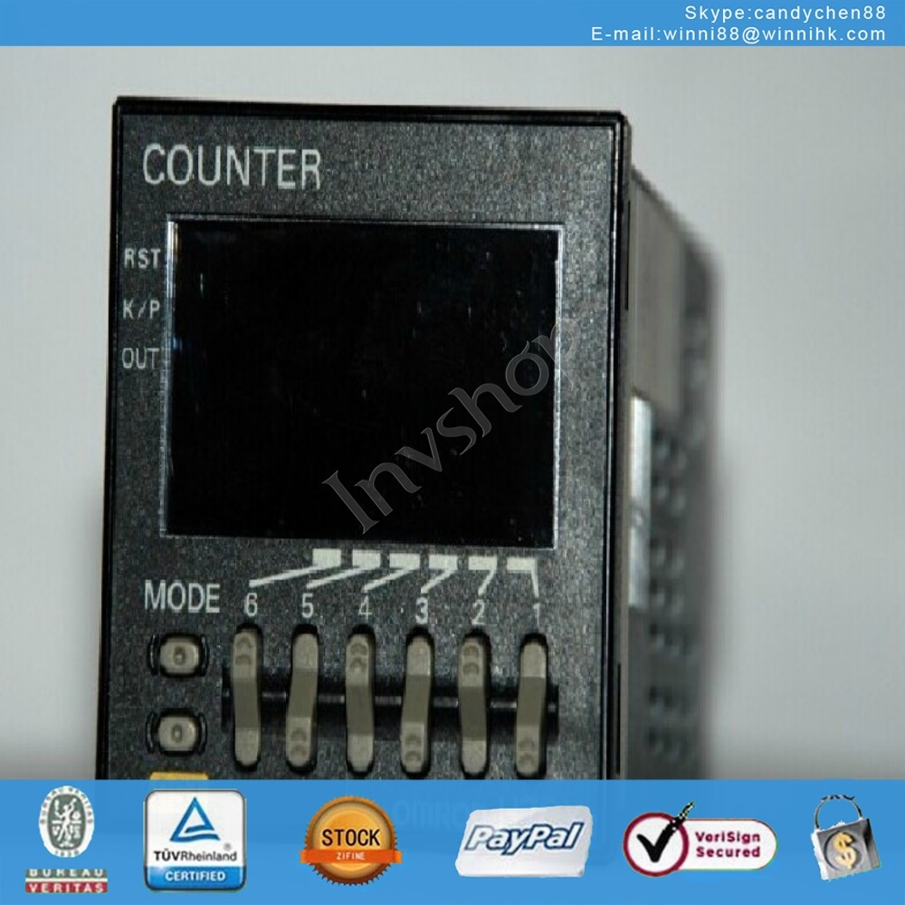 New H7CXA114N 100-240 vac what counter