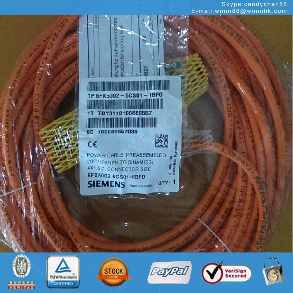 NEW 6FX5002-5CS01-1BF0 cable 4 * 1.5 15 m