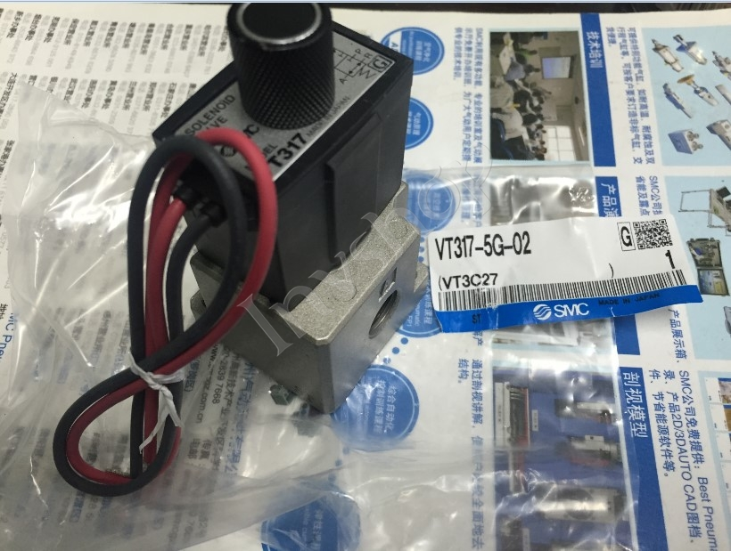 1PC SMC VT317-5G-02 NEW solenoid valve