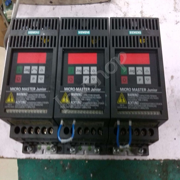 1PC USED 6SE9113-4BA53 SIEMENS PLC 220V 750W Micro Inverter