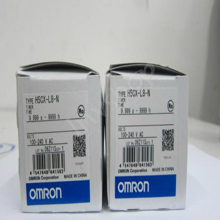 1PC IN BOX Digital Timer NEW H5CX-L8-N OMRON 100-240VAC