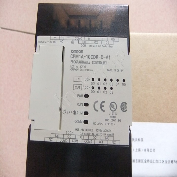 1PC Used CPM1A-10CDT-D-V1 OMRON PLC