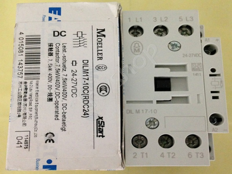 NEW Contactor DILM17-10, Moller brand