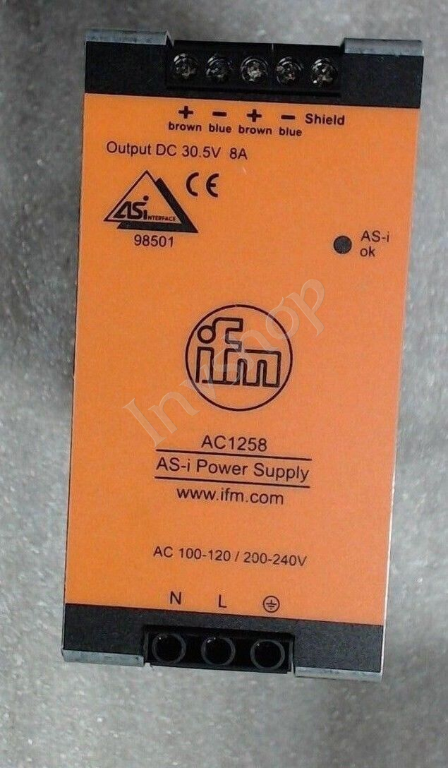 AC1258  IFM power supply   60 day warranty