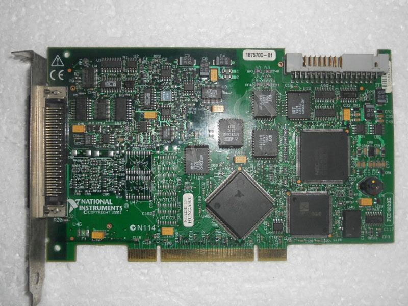 PCI-6023E NI data acquisition card