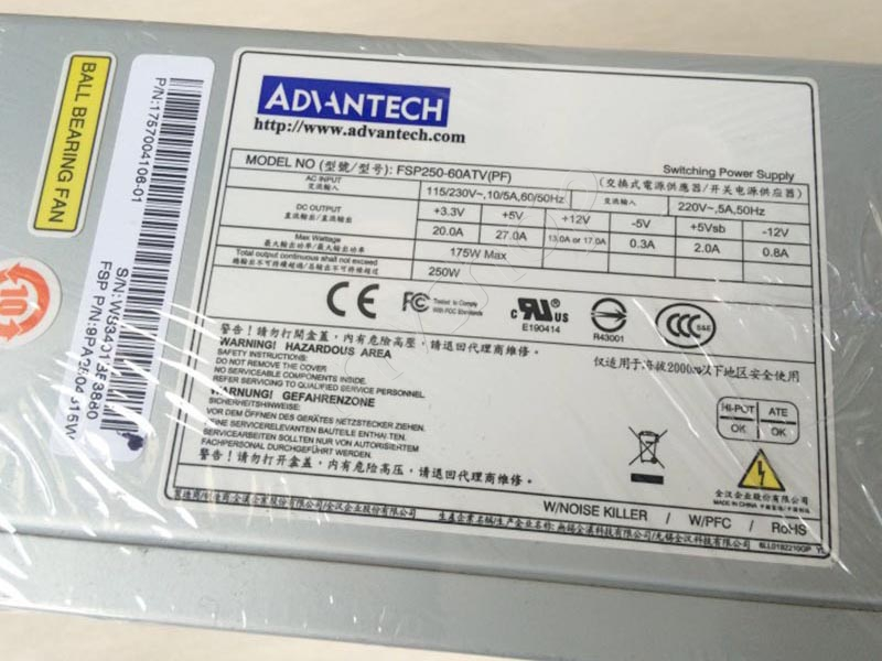 FSP250-60ATV (PF) Advantech industrial power supply