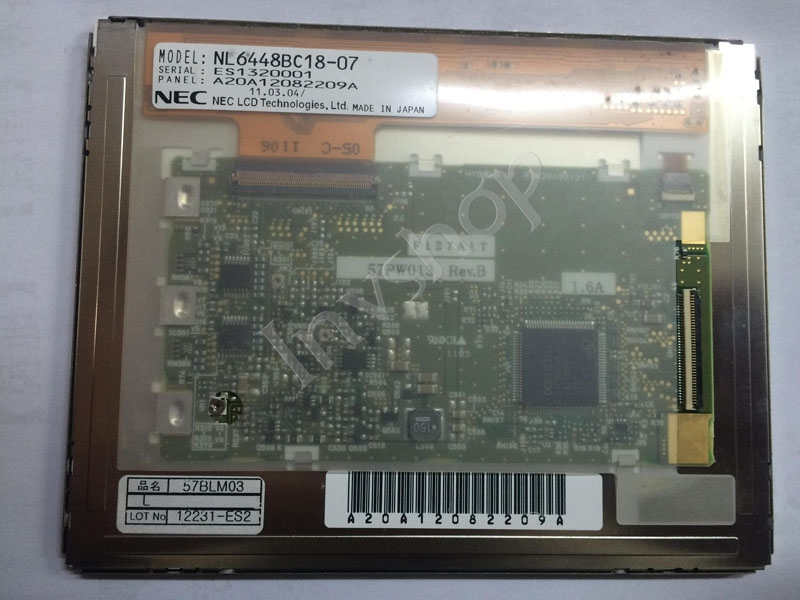 NL6448BC18-07 5.7 inch 640×480 LCD Screen Panel NEW