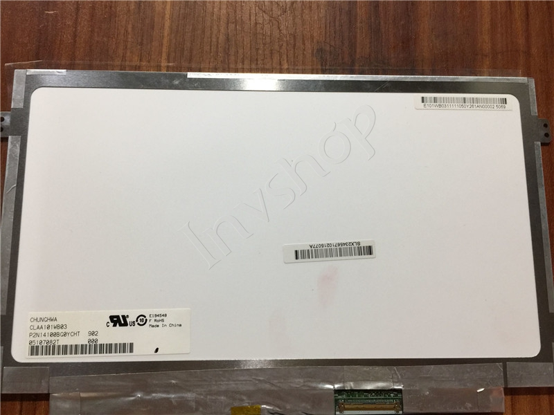 CLAA101WB03 CPT 10.1inch lcd display New and Original