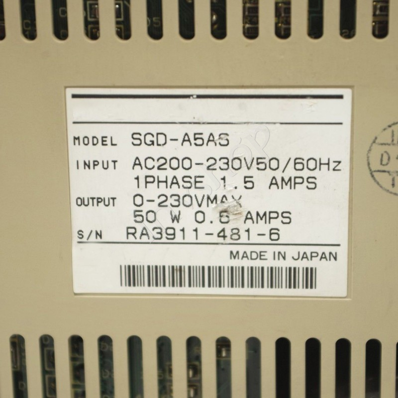 SGD-A5AS yaskawa Server New and Original box
