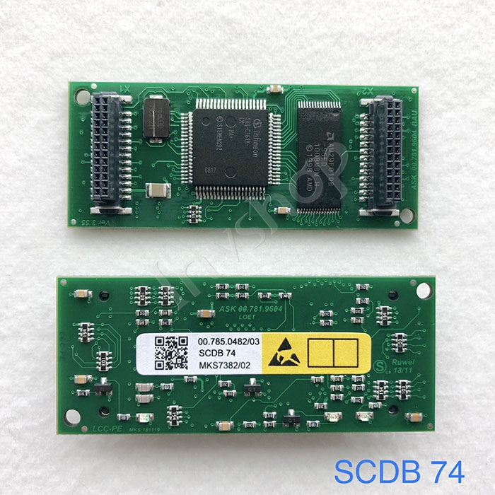 SM74 PM74 press 00.785.0482 module SCDB74,SCDB-74 board