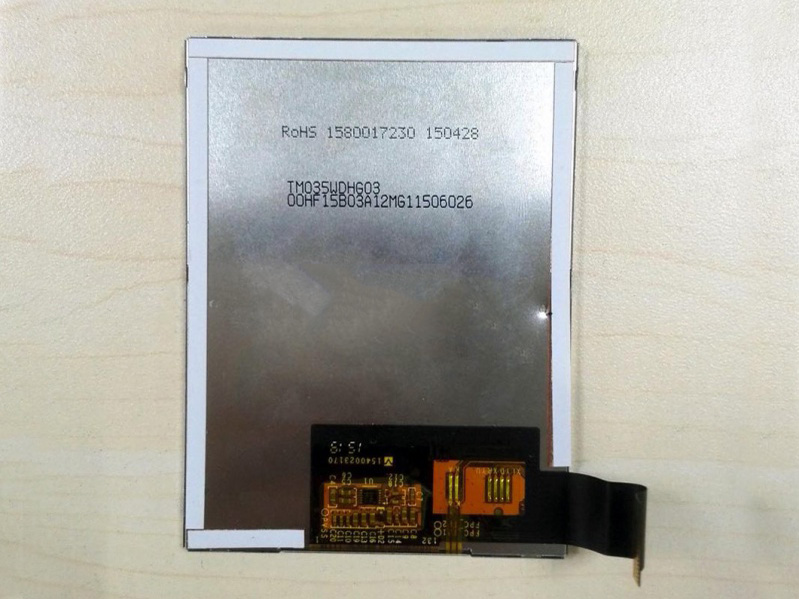 3.5 inch  Tianma 480*640 a-Si TFT lcd modules TM035WDHG01
