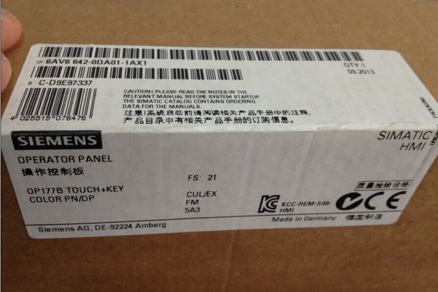 6AV6 642-0DA01-1AX1 Siemens LCD PANEL New and Original