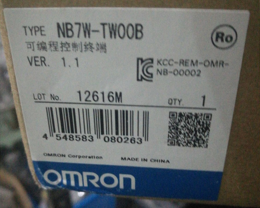 NB7W-TWOOB OMRON TOUCH PANEL New and Original